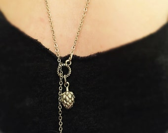 Hop & Barrel Infinity Necklace