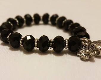Black Color Egyptian Crystal Bracelet