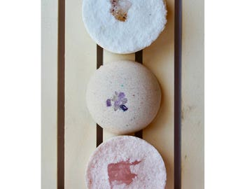 Crystal Bath Bomb Set