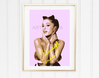 Ariana Printable Art with signature Always
