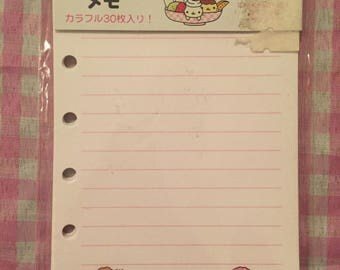 San-X Nyan Nyanko loose memo paper RARE