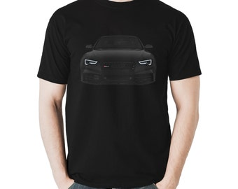Audi RS5 T-Shirt A5 S5 Black Mens Gift Idea 100% Cotton Holiday Gift Christmas Birthday Present