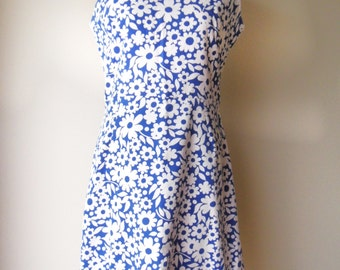 1970s summer dress bust 40""