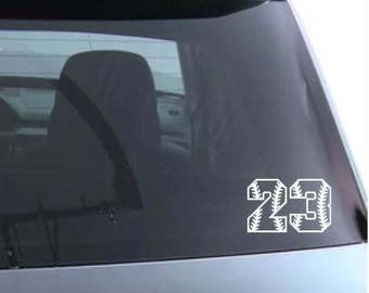 Vinyl Car Decal Etsy - Custom car decals baseball