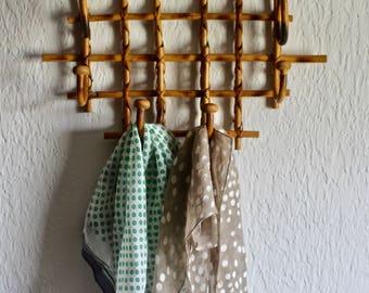 Bamboo Hook Rack - bohemian clothes hanger