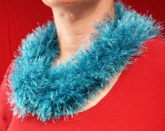 Turquoise Necktie Scarf