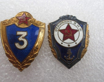 Soviet badges soviet military pin soldier sport badge soviet navy soviet army pin vintage soviet gift for him made in USSR