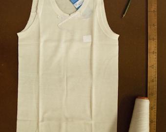 Women's 100% MERINO undeshirt sleeveless - pure virgin merino wool underwear for women - outdoors & hiking underwear - breathableunderwear