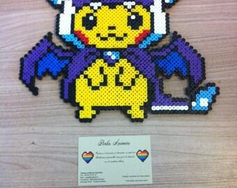 Pixel art / Perler Beads Pikachu costume
