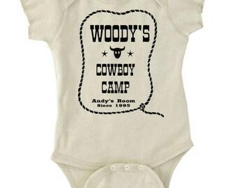 Disney Baby Shirt Woody's Cowboy Camp Toy Story Shirt Pixar Shirt  Disneyland Shirt Disney World Shirt Peter pan shirt Magic Kingdom Shirt