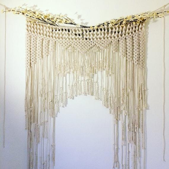 Macramae Ideas Wedding Arch: Macrame Wedding Arch Boho Wedding Decor