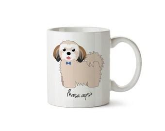 Lhasa Apso Mug (boy)
