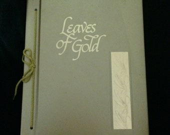 Leaves of Gold book, 1948