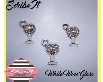 Charm Wine Glass