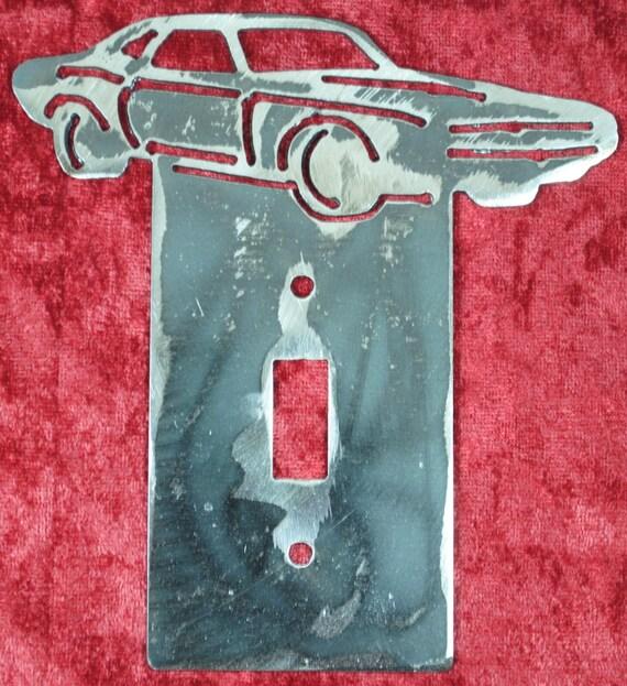 1970 Dodge Challenger Light Switch Cover Plate, Light Switch Cover, Automobile Memorabilia, Muscle Car, 1970 Memorabilia Art, Automotive Art