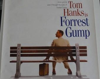 "FORREST GUMP - Original 1994 Advance US One Sheet Movie Film Poster (40"" x 27"")"
