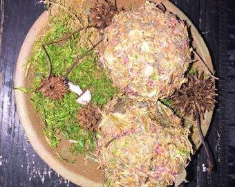 Scented Bowl Filler,Rustic Cabin Decor,Primitive Dried Rustic Herb Filler,Decorative Dried Flower Potpourri,Handmade Farmhouse Decor
