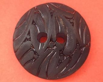 8 dark grey buttons 23mm (4375) anthracite button
