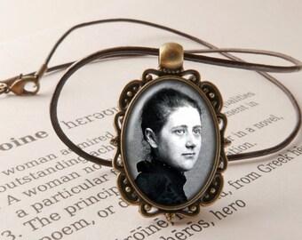 Beatrix Potter Pendant Necklace - Peter Rabbit Gift, Hill Top Necklace, Peter Rabbit Jewellery, Miss Potter Gift, Lake District Souvenir