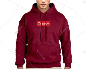 "Unisex - Premium Retail Fit ""Custom"" 2017 Hooded Sweater, Hoodie, Pullover Fleece (S,M, L, XL+) Oversized? Order big! Box"