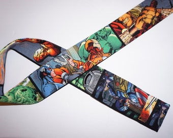 Avengers Super Heroes camera strap cover for a photographer gift