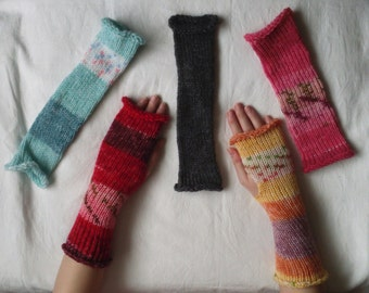 Fingerless Wrist Warmers/ Gloves