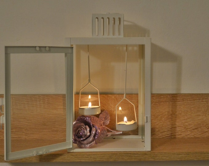 10%OFF Metal Lantern with Tealight Holder / lantern / lanterns / wedding lantern centerpiece