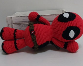 Deadpool Marvel amigurumi doll