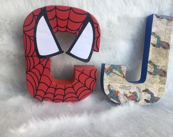 SPIDERMAN- Spiderman Party- Spiderman decor-spiderman room-made to order