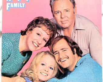 All In The Family - 1971 - Vinyl - Atlantic Records - SD 7210 - Includes original insert