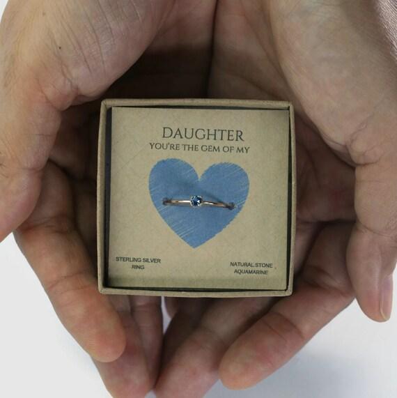 Daughter Ring Christmas Gift Gift For Her Birthday Gift
