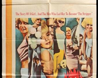 "The Stripper (1963) Vintage Movie Poster - 27""x 41"""