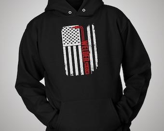 Welder USA American Flag Hoodie
