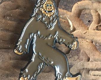 sasquatch bigfoot squatch enamel pin