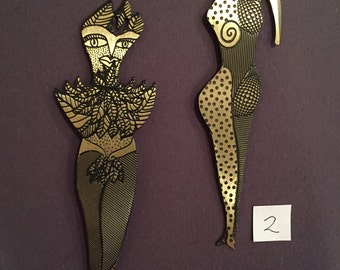 Kimberly Wilcox Metal Bookmarks (Awesomest. Bookmarks. Ever.)