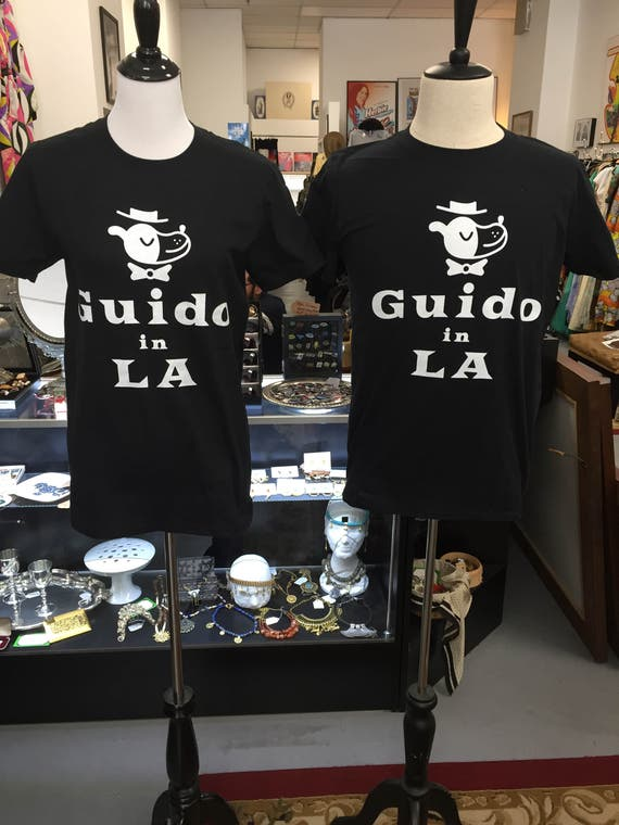 Guido in LA tees!