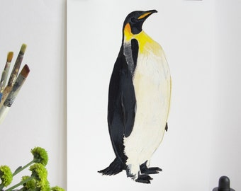 Emperor Penguin Print