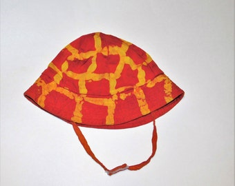 Matching Sun Hat Add-On for Giraffe Onesie