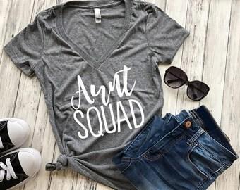Aunt Squad Shirt, Aunt Squad Tank Top, Aunt shirt
