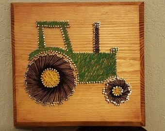 Tractor Sring Art
