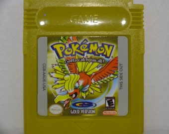 Pokemon Gold for gameboy color