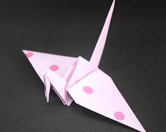 20 Origami Crane Wedding Favors Baby Girl P1/7
