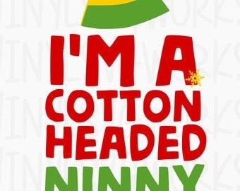 Cotton Headed Ninny Muggins SVG FILE