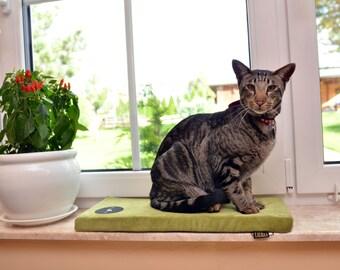 window sill mattress CLEO for cat , Matelas de fenêtre, Fensterbank-Matratze, Colchón de ventana, finestra materasso davanzale per gatti