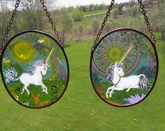 Unicorn Suncatchers Set of 2