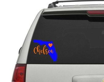 Vinyl Decal - Florida Decal - Car Decal - Yeti Decal - Bumper Sticker - Cute Decals for Yeti Cups - Vinyl Sticker - Laptop Sticker
