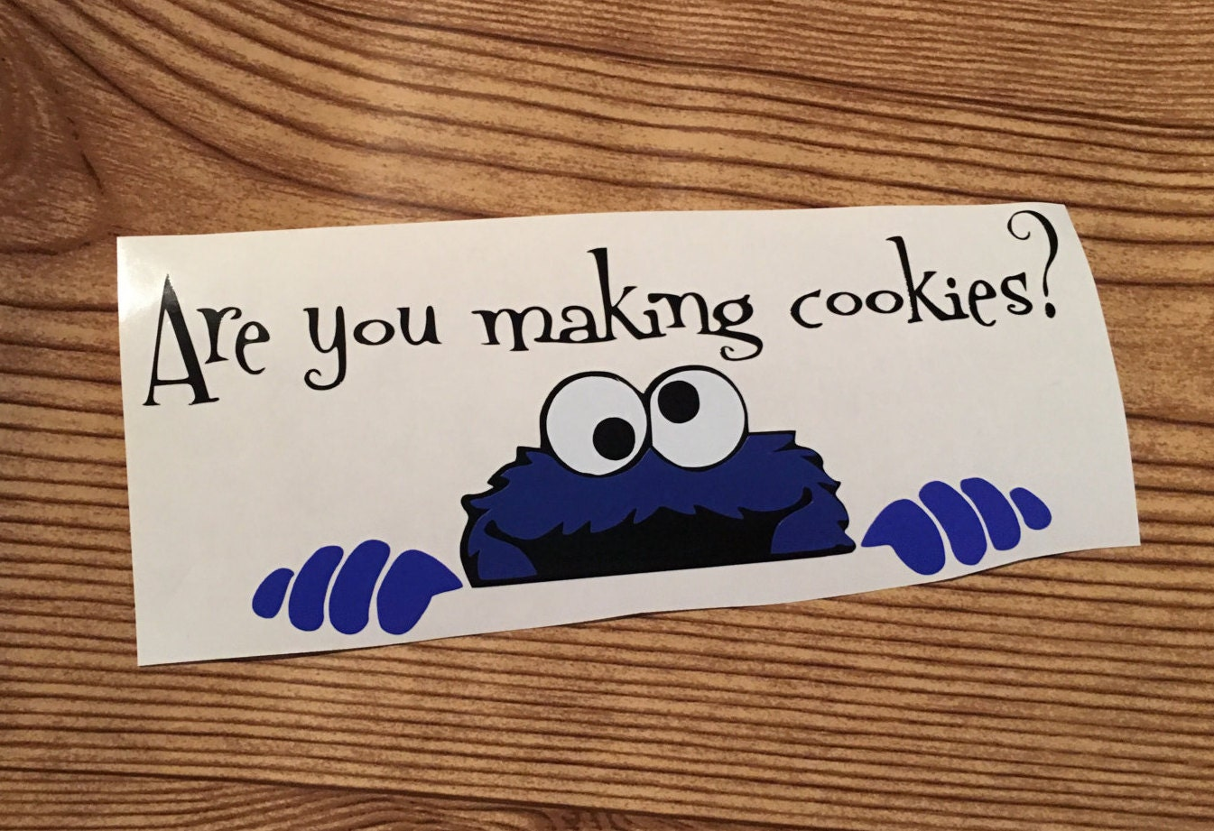 All Black Kitchenaid Mixer Kitchen Aid Mixer Decal Cookie Monster Are You Making