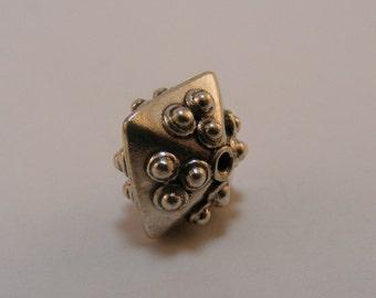 Sterling Silver Handmade Bali Bead Style B446