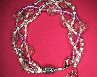 Three Strand Braided bracelet.