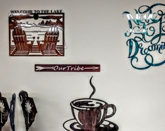Never Stop Dreaming, Custom Sayings, Metal Art